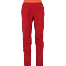 La Sportiva Roots Miehet Pitkät housut , oranssi/punainen